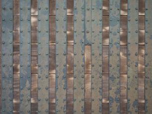 江戸城の門扉の写真素材 [FYI01198274]
