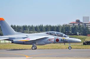 航空自衛隊のT-4練習機の写真素材 [FYI01198593]