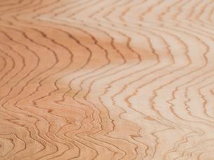 木目のきれいなスギ板の写真素材 [FYI01198698]