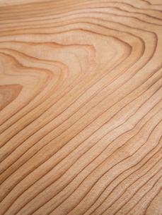 木目のきれいなスギ板の写真素材 [FYI01198703]