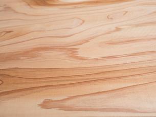 木目のきれいなスギ板の写真素材 [FYI01198706]
