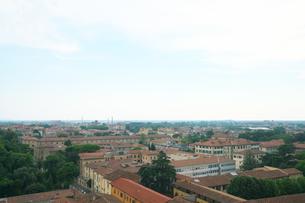 ピサの斜塔の最上階から見るピサの街並みの写真素材 [FYI01198773]