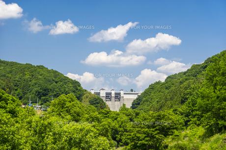 三春ダムの写真素材 [FYI01198878]
