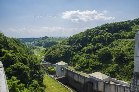 三春ダムの写真素材 [FYI01198881]