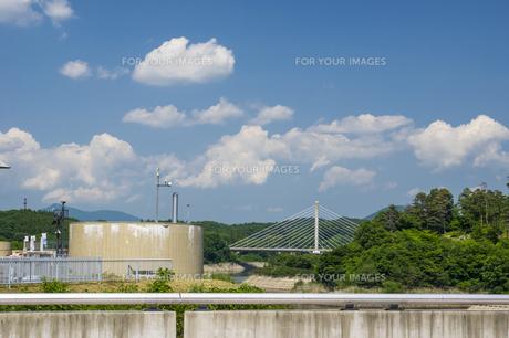 三春ダムの写真素材 [FYI01198882]
