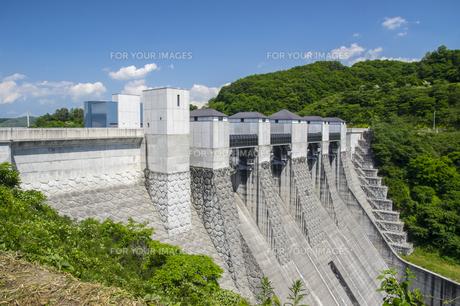 三春ダムの写真素材 [FYI01198883]