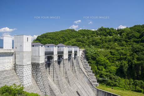 三春ダムの写真素材 [FYI01198886]