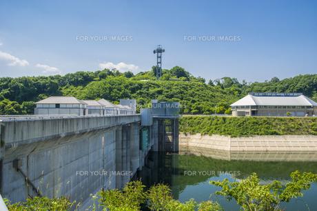 三春ダムの写真素材 [FYI01198887]