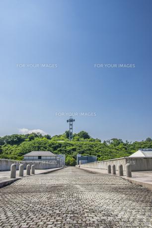 三春ダムの写真素材 [FYI01198889]