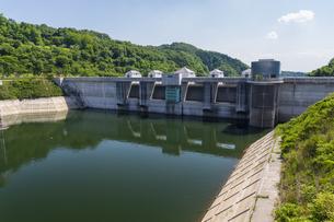 三春ダムの写真素材 [FYI01198891]