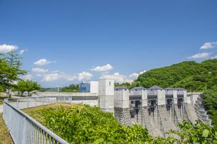 三春ダムの写真素材 [FYI01198892]