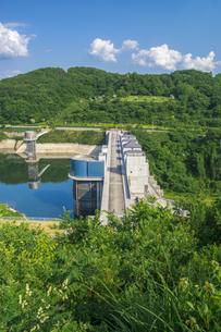 三春ダムの写真素材 [FYI01198893]