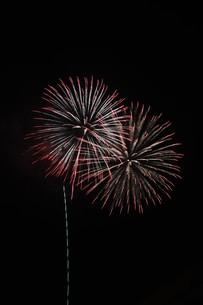 夜空を彩る夏の風物詩 ・ 花火大会の写真素材 [FYI01199316]