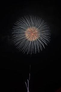 夜空を彩る夏の風物詩 ・ 花火大会の写真素材 [FYI01199320]