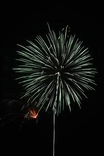 夜空を彩る夏の風物詩 ・ 花火大会の写真素材 [FYI01199342]
