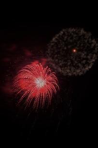 夜空を彩る夏の風物詩 ・ 花火大会の写真素材 [FYI01199343]
