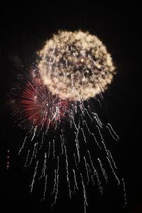 夜空を彩る夏の風物詩 ・ 花火大会の写真素材 [FYI01199344]