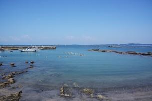 夏の湘南コースト・神奈川県 葉山海岸の写真素材 [FYI01199379]