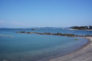 夏の湘南コースト・神奈川県 葉山海岸の写真素材 [FYI01199381]