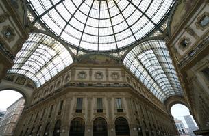 ミラノのガレリアの天井の写真素材 [FYI01199397]