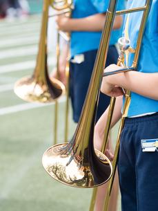 小学校のマーチングバンドの写真素材 [FYI01199408]