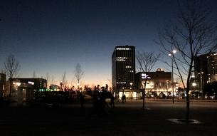 都市夜景1の写真素材 [FYI01199528]