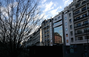 冬のパリの写真素材 [FYI01199533]