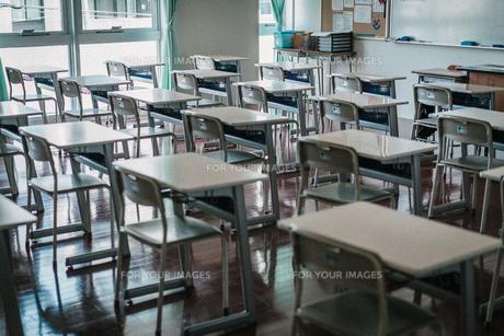 教室の写真素材 [FYI01199591]