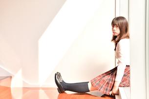 放課後の女子校生の写真素材 [FYI01199924]