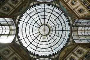 ミラノのガレリアの天井の写真素材 [FYI01199964]