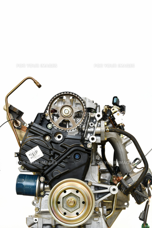 自動車エンジンの修理の写真素材 [FYI01199974]