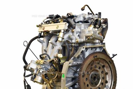 自動車エンジンの修理の写真素材 [FYI01199976]