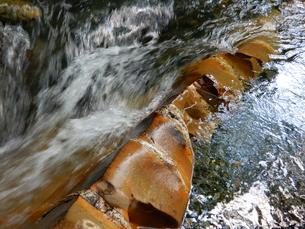 国天然記念物 蛇石(長野県辰野町 横川)の写真素材 [FYI01199996]