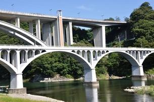 小倉橋と新小倉橋の写真素材 [FYI01200026]