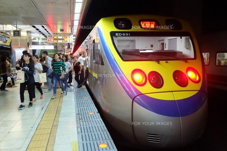 台湾 鉄道の写真素材 [FYI01200183]