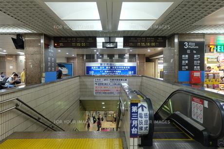 台湾 台北駅 駅構内の写真素材 [FYI01200199]