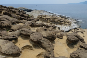 台湾 奇岩の写真素材 [FYI01200236]
