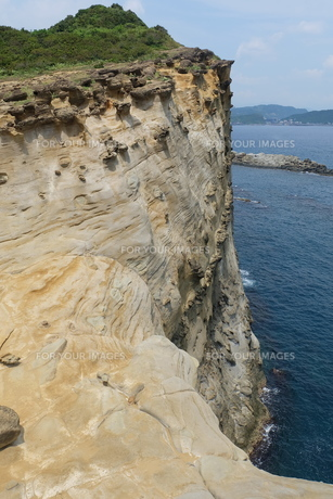 台湾 奇岩の写真素材 [FYI01200238]