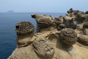 台湾 奇岩の写真素材 [FYI01200240]
