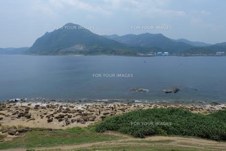 台湾 奇岩の写真素材 [FYI01200242]