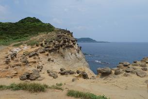 台湾 奇岩の写真素材 [FYI01200244]