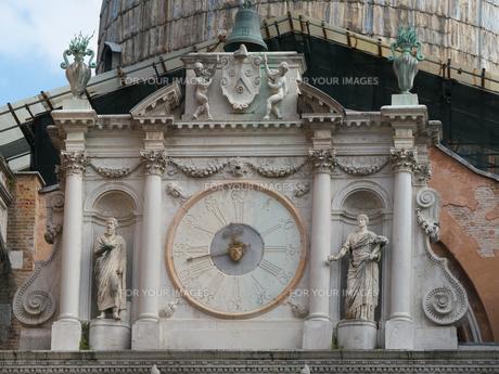 ドゥカーレ宮殿の時計の写真素材 [FYI01200270]