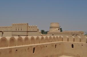 オマーン 城壁の写真素材 [FYI01200277]
