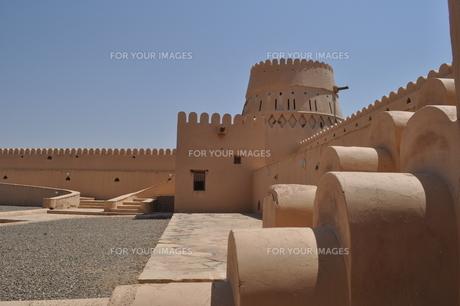 オマーン 城壁の写真素材 [FYI01200279]