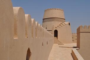 オマーン 城壁の写真素材 [FYI01200280]