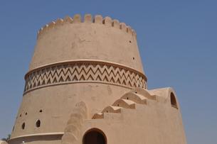 オマーン 城壁の写真素材 [FYI01200281]