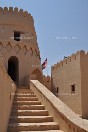 オマーン 城壁の写真素材 [FYI01200283]