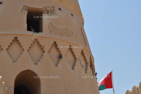 オマーン 城壁の写真素材 [FYI01200284]