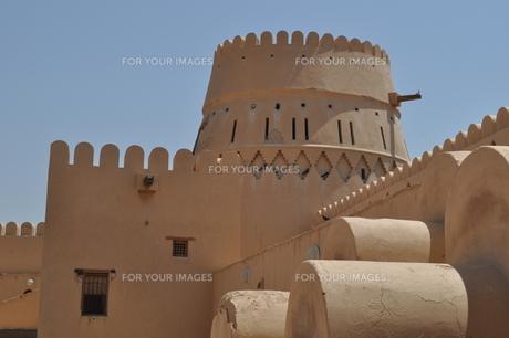 オマーン 城壁の写真素材 [FYI01200285]