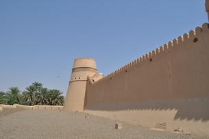 オマーン 城壁の写真素材 [FYI01200286]